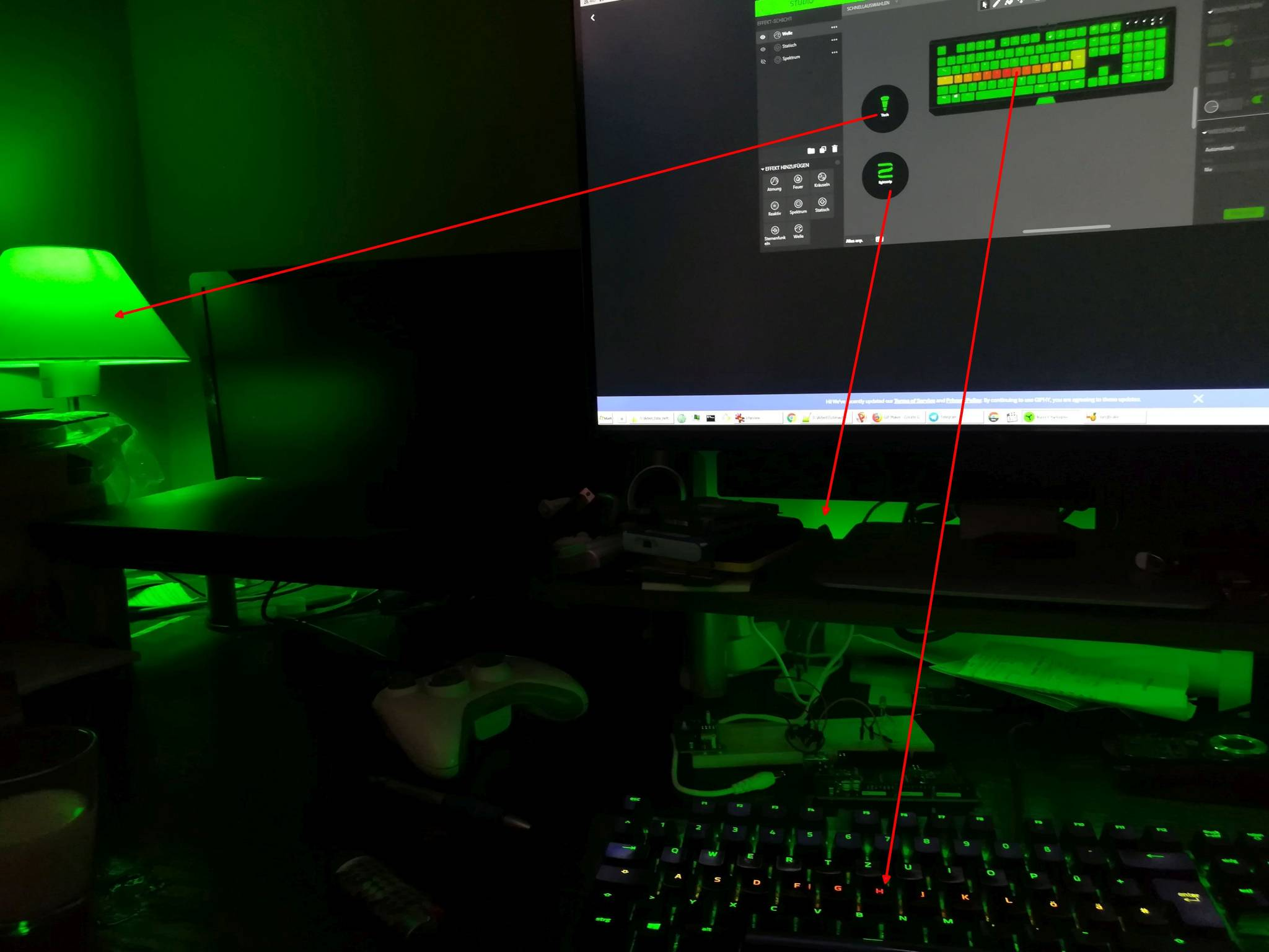 razer philips hue chroma