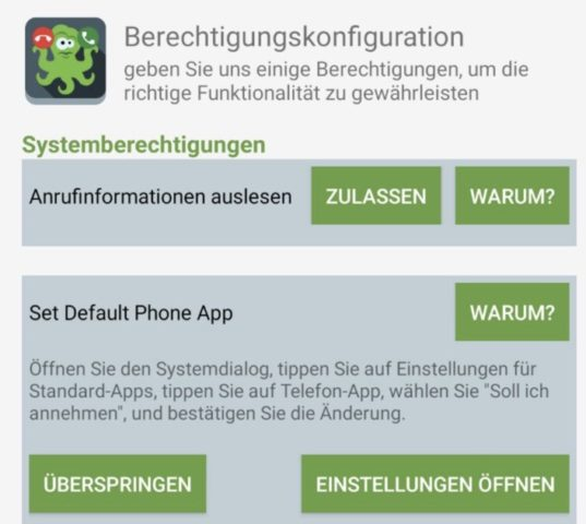 Anonyme Anrufer sperren Android