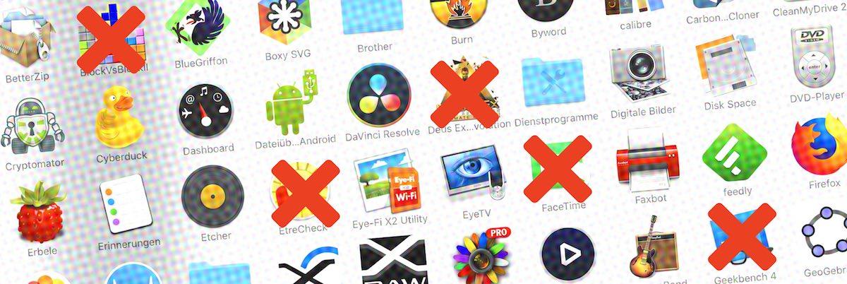 Mit AppCleaner entfernt Ihr Apps vollständig vom Mac.