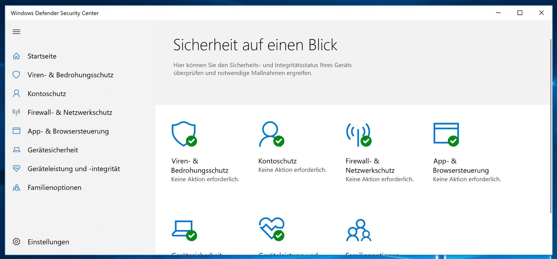 Windows 10 kümmert sich selbst um seine Sicherheit – auch in Edge!