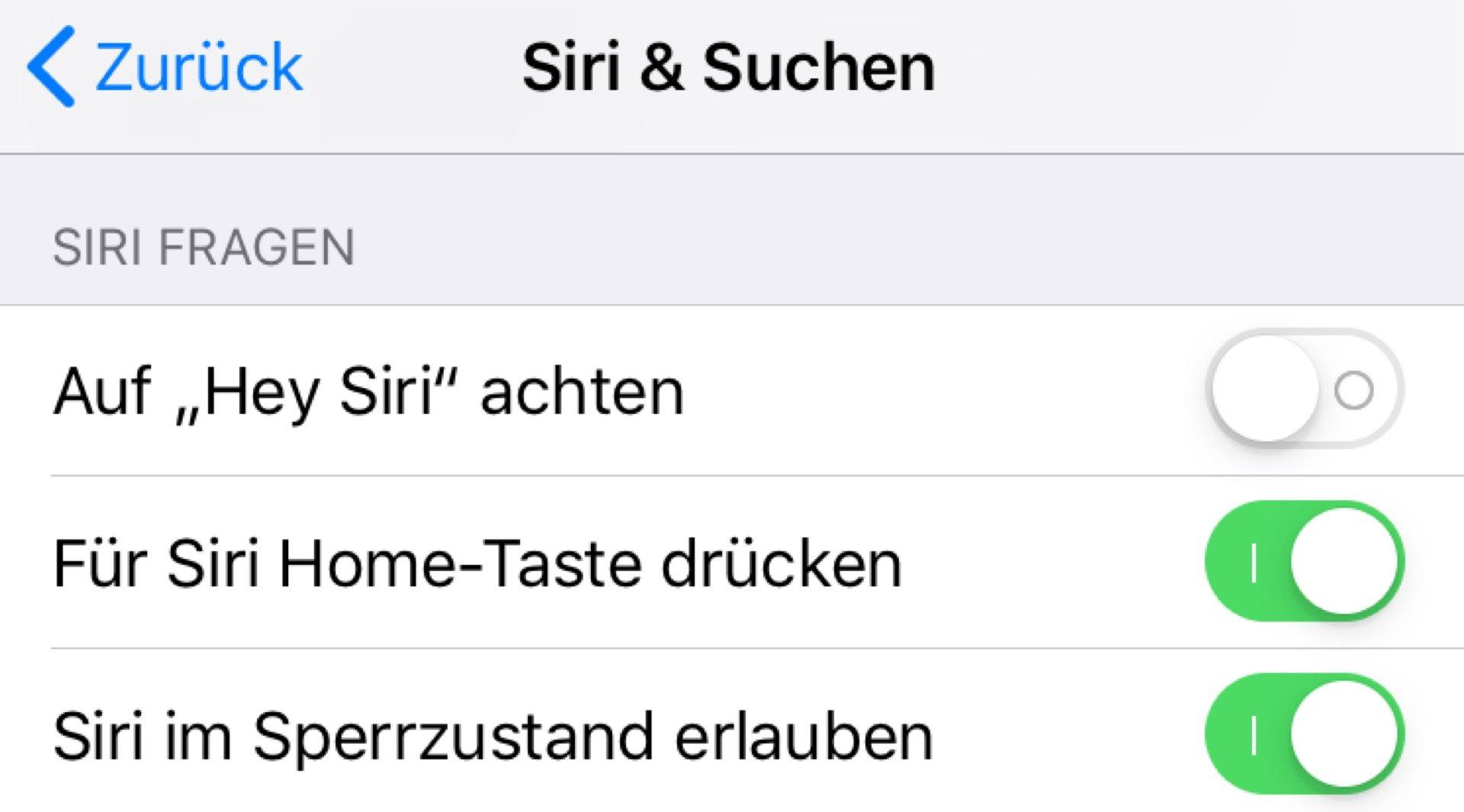 Hey Siri ist in vielen Fällen überflüssig.
