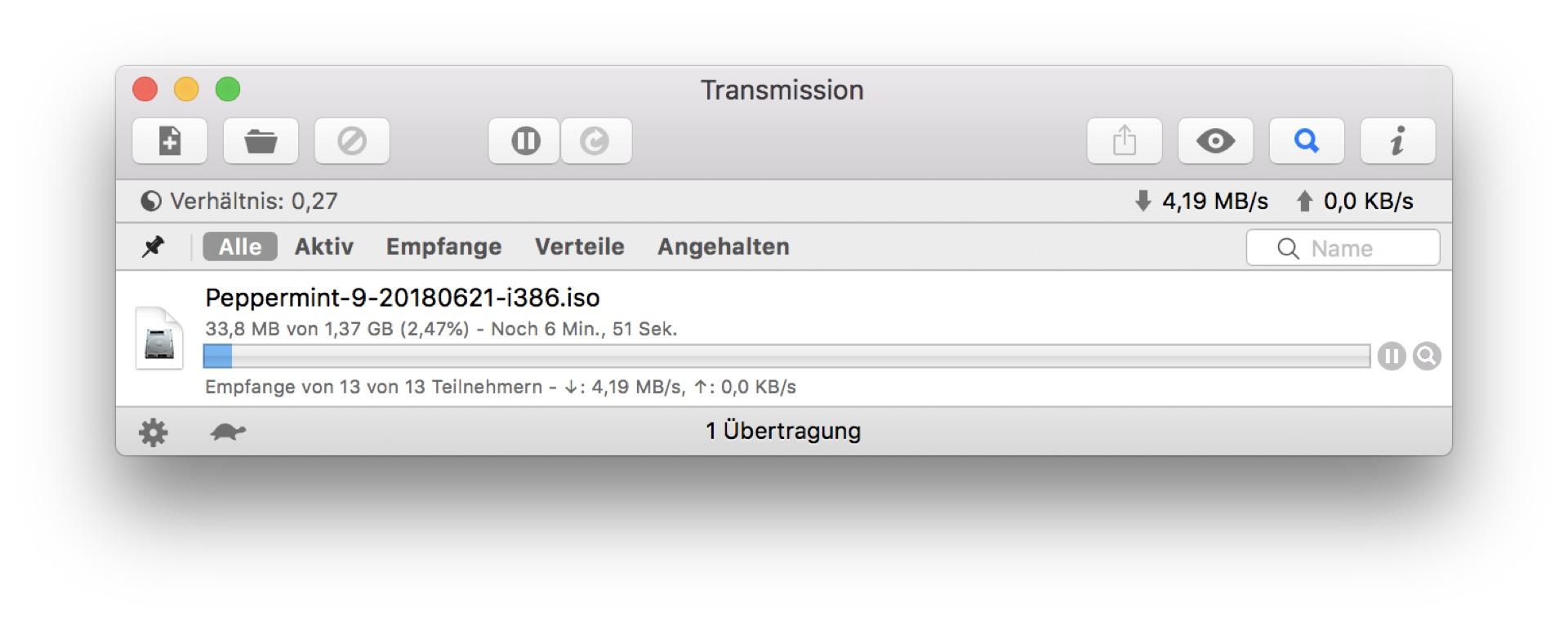 Am schnellsten geht der Download meist per Torrent.