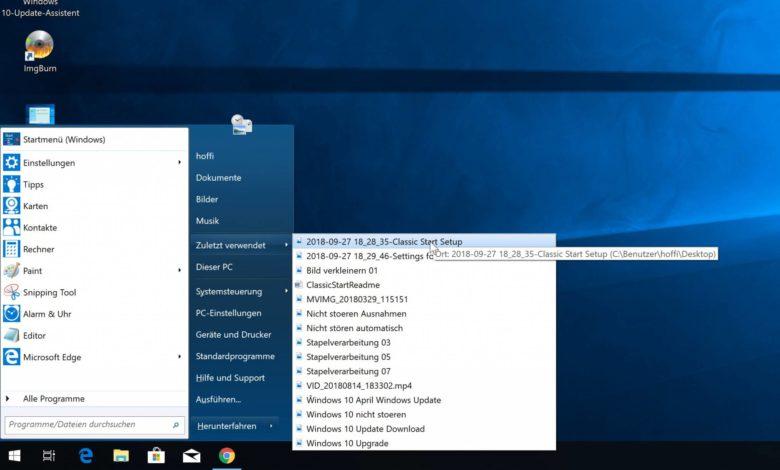 Open Shell Windows 10