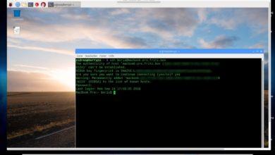 Bild von Anleitung: Raspberry Pi via VNC fernsteuern