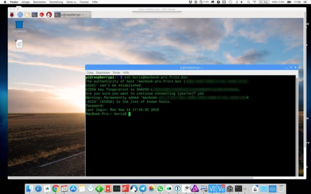 Raspberry Pi VNC Fernzugriff