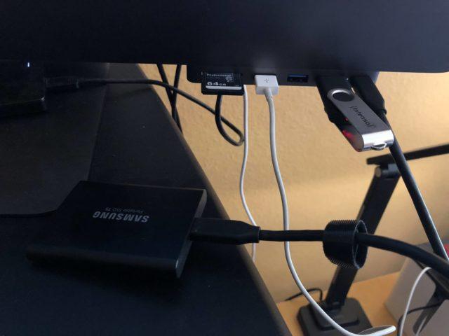 Satechi USB-C-Hub Ports
