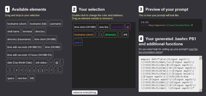 linux terminal bash prompt