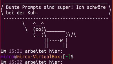 Photo of Anleitung: Linux-Prompt individualisieren