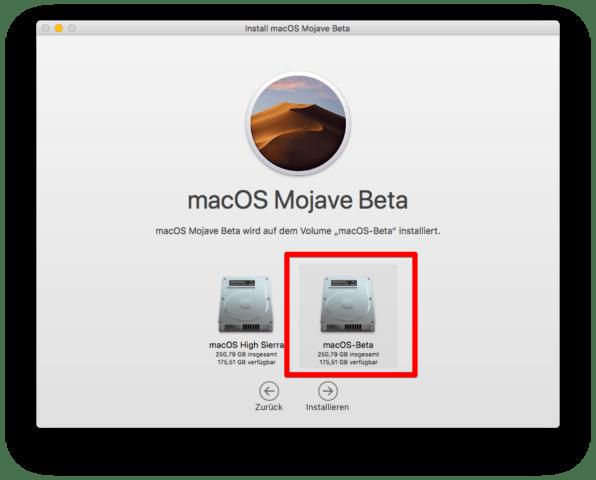 macOS Mojave Dual-Boot