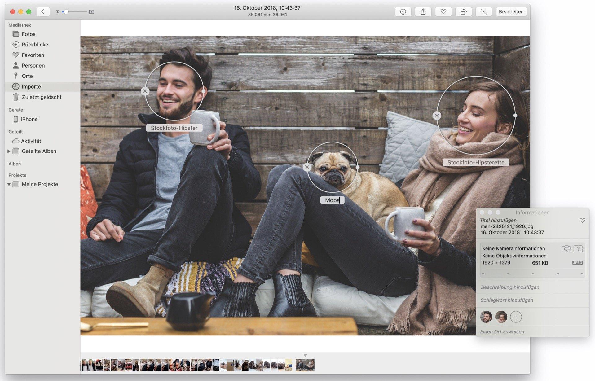 Fotos hat sich geweigert, die beiden Hipster zu erkennen. (Fotoquelle: 5688709/Pixabay)