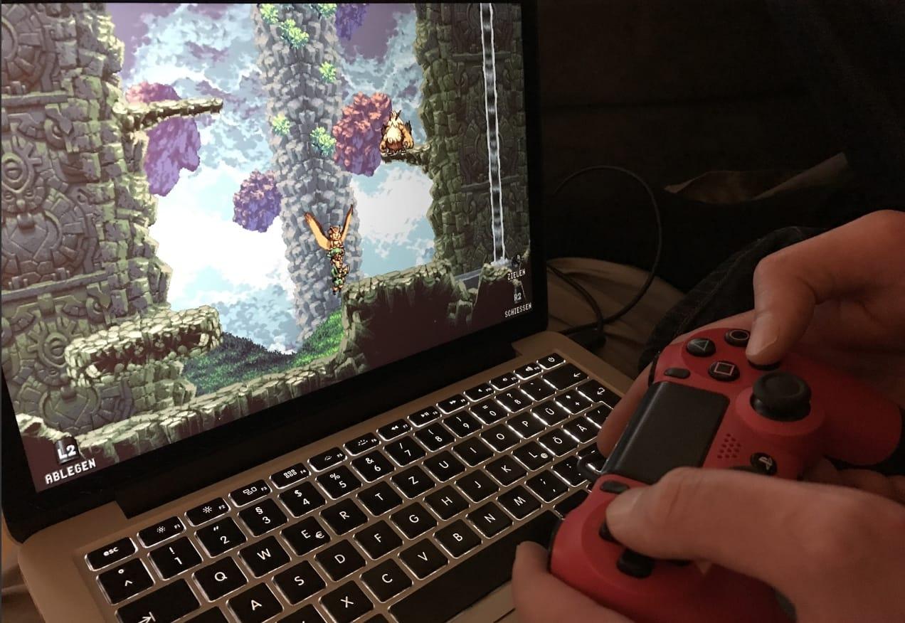 Owlboy Mac PS4-Controller
