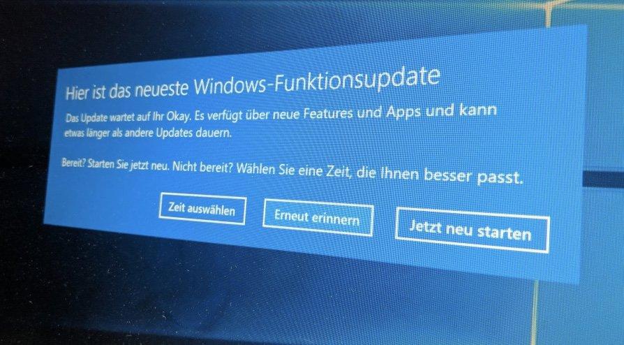Windows 10 Oktober Update Download