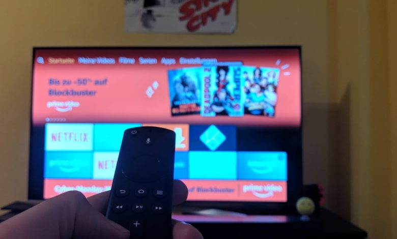 Fire TV Stick 4K Fernbedienung