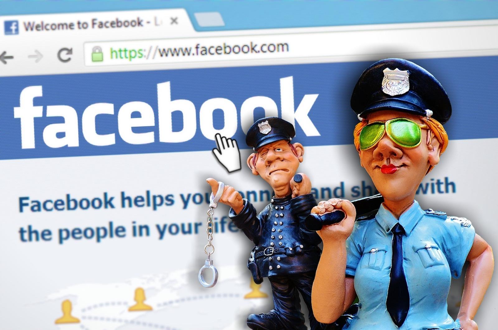 NetzDG: Eine Ansammlung von Schund wie bei Facebook ruft die Behörden auf den Plan. (Bild: Alexas_Fotos/Pixabay)