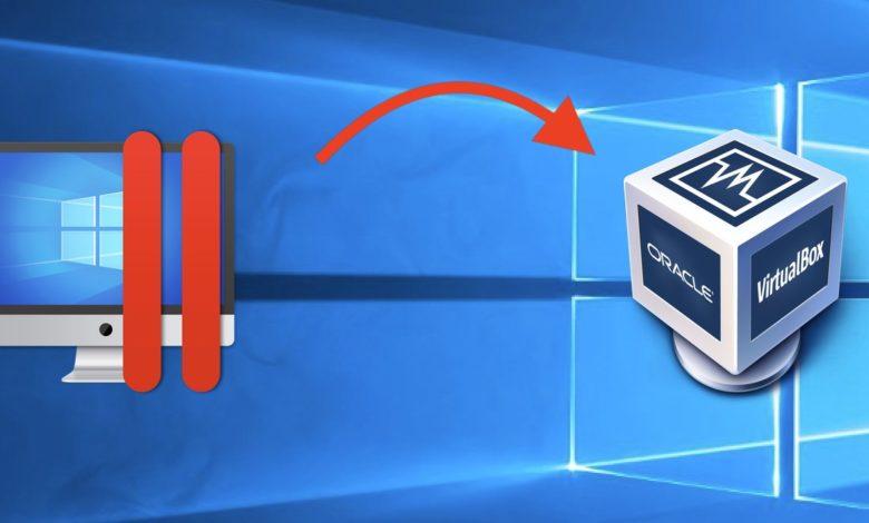 Der Umzug von Parallels zu VirtualBox ist ein Kinderspiel.