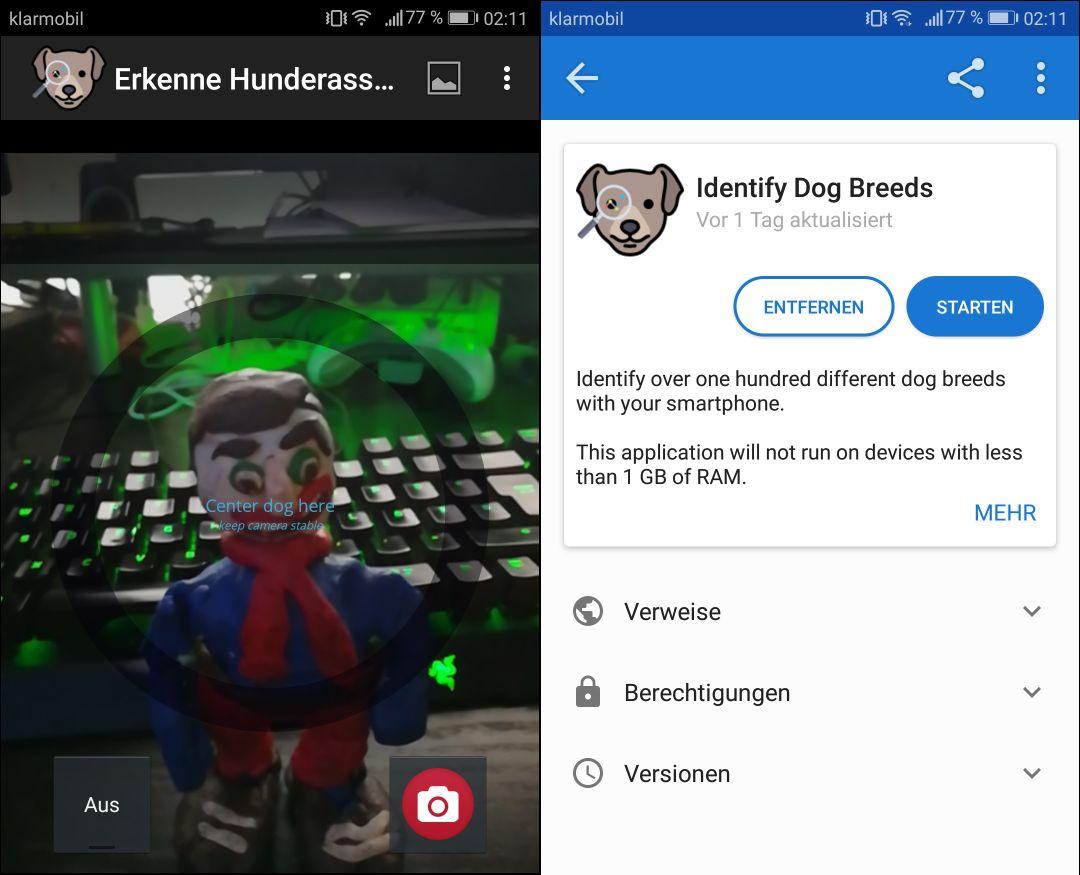 fdroid hunde rassen app