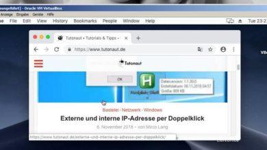 Bild von Anleitung: macOS mit VirtualBox unter Windows testen