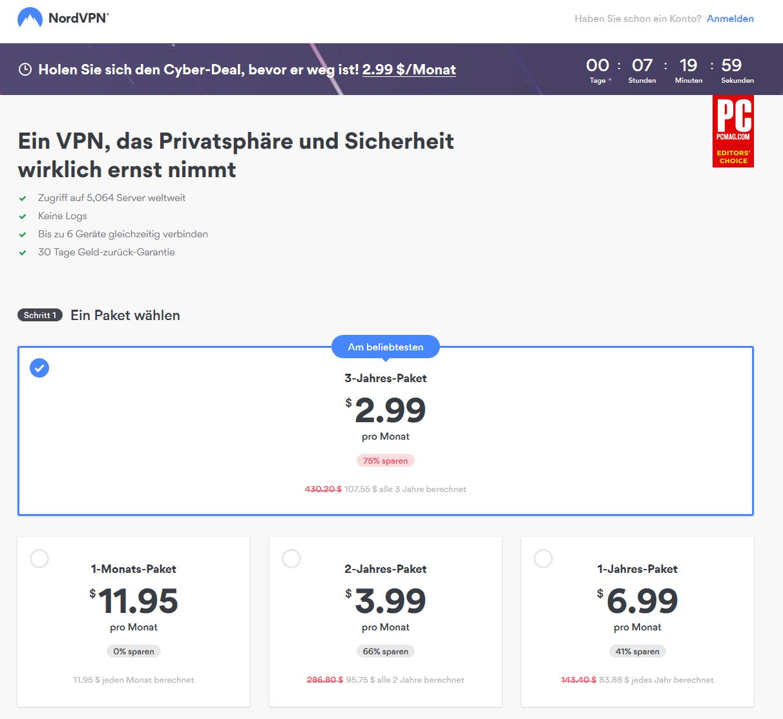 nordvpn-preise-screenshot