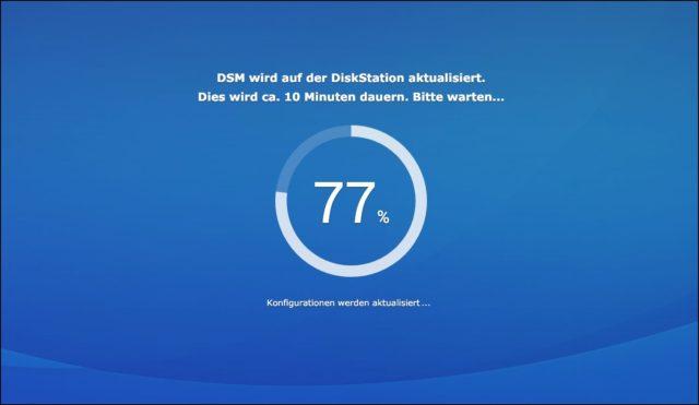 Diskstation Manager Update installieren