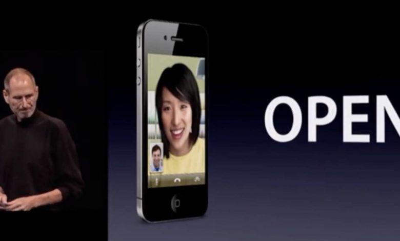 Facetime sollte eigentlich quelloffen werden (Bild: Screenshot WWDC 2011)