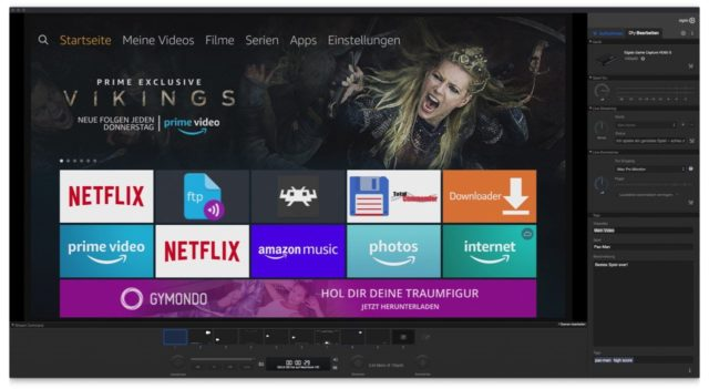 Fire TV UI HDCP
