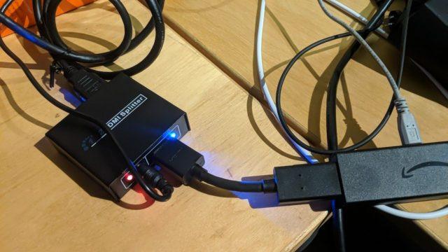 HDCP ausschalten via HDMI-Splitter