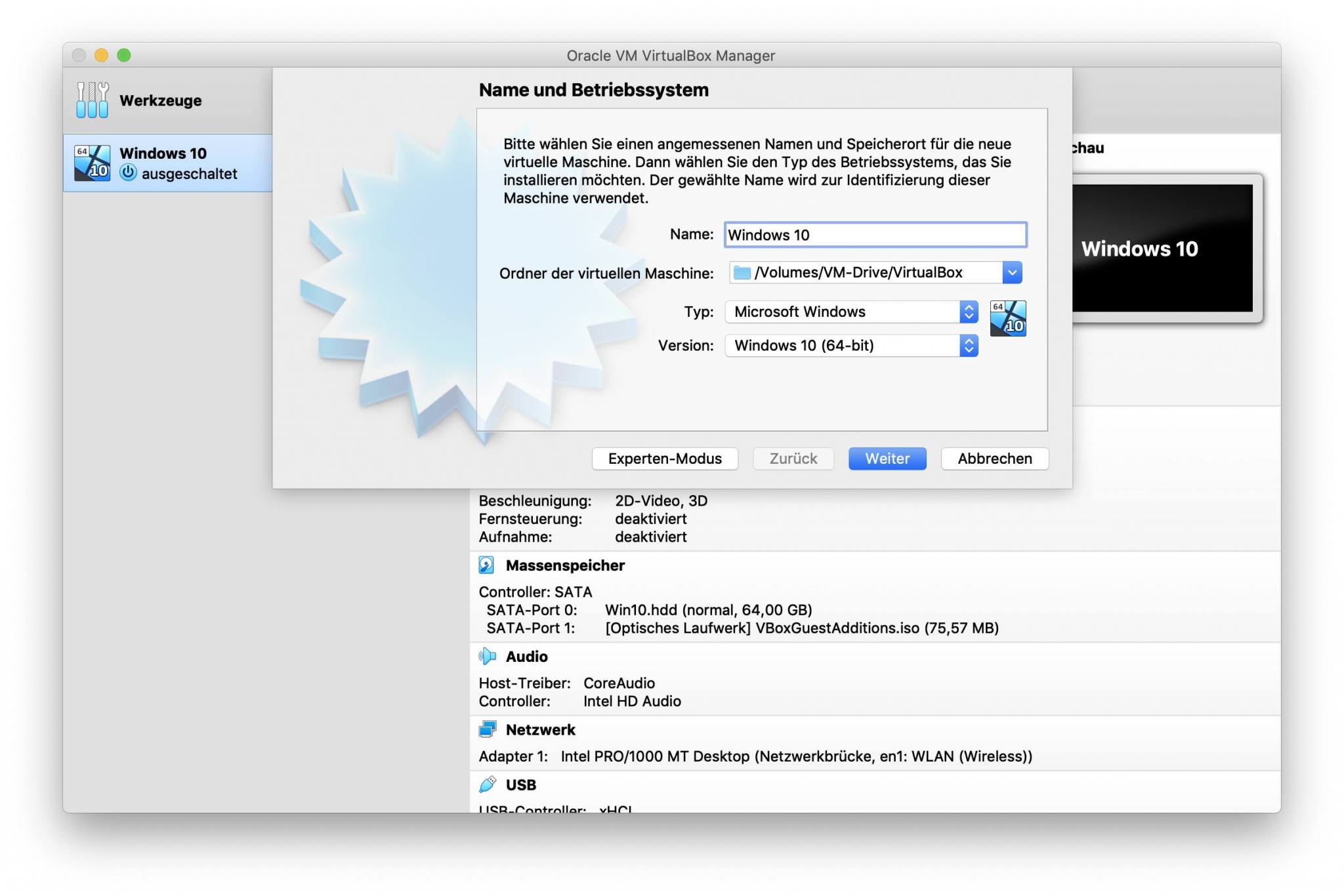 Neue VMs könnt Ihr direkt auf dem neuen Speicher ablegen.