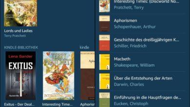 Bild von Amazon Alexa: Kindle-Bücher vorlesen lassen