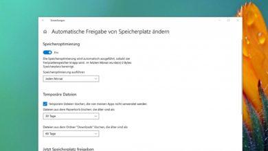 temporäre Dateien automatisch löschen