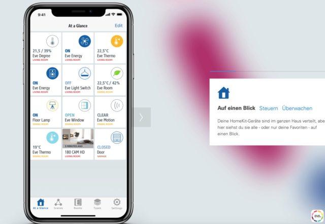 Eve App HomeKit