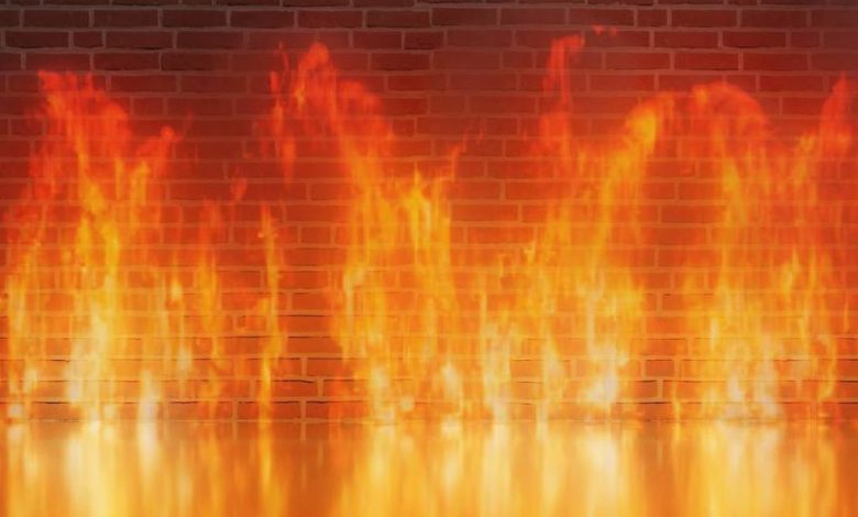 Firewall (Bild: MasterTux/Pixabay)