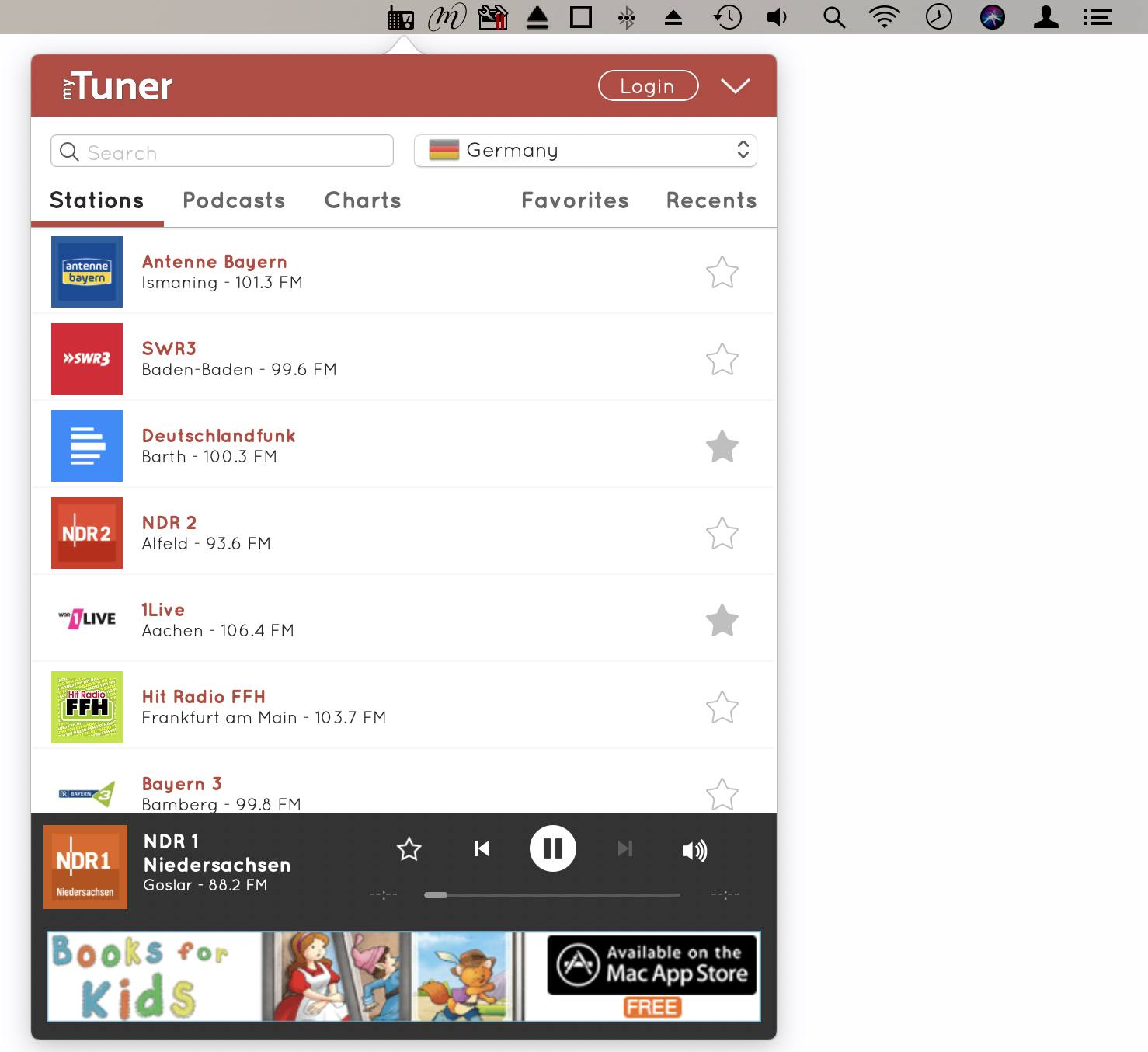MyTuner Radio ist kostenlos. Werbefrei ist aber nur die Pro-Version.