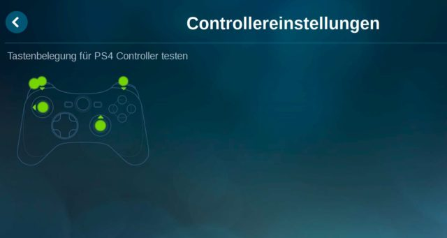 PS4 Controller Raspberry Pi Test