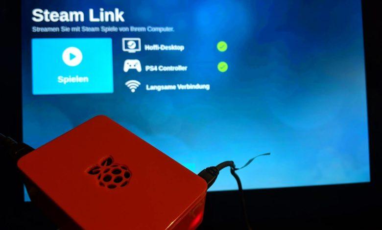 Raspberry Pi Steam Streaming