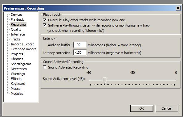 Audacity: Software Playthrough