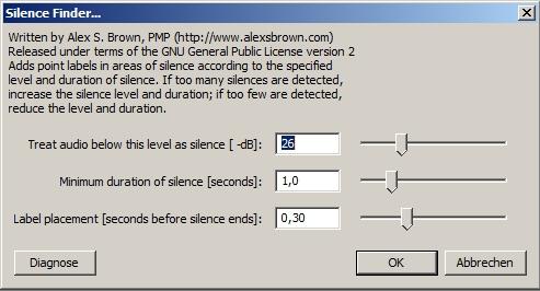 audacity lp digitalisieren