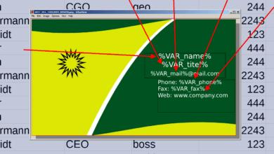 Bild von Anleitung: Scribus-Layouts automatisch aus CSV-Datei füllen