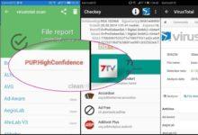 Bild von Android: Installierte Apps bei VirusTotal nachschlagen
