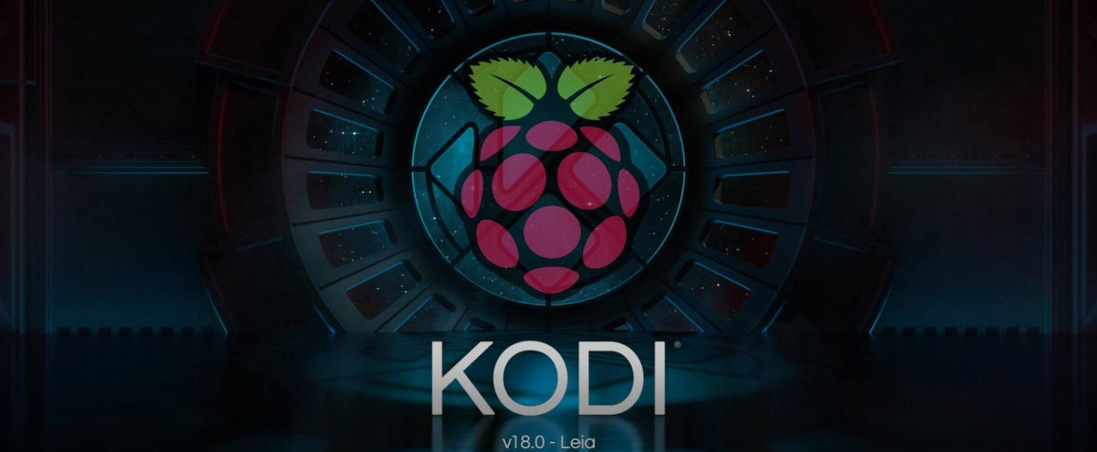 kodi 18 install raspberry pi