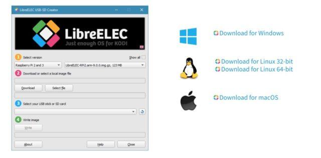 LibreELEC Downloads USB-SD-Creator Download
