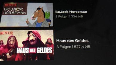 Photo of Netflix Smart-Downloads: Neue Serien-Folgen automatisch herunterladen