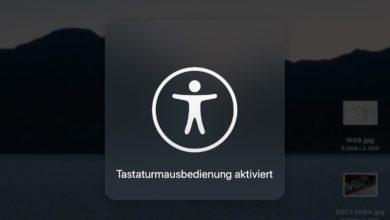 Bild von Anleitung: Mac ohne Maus per Tastatur steuern