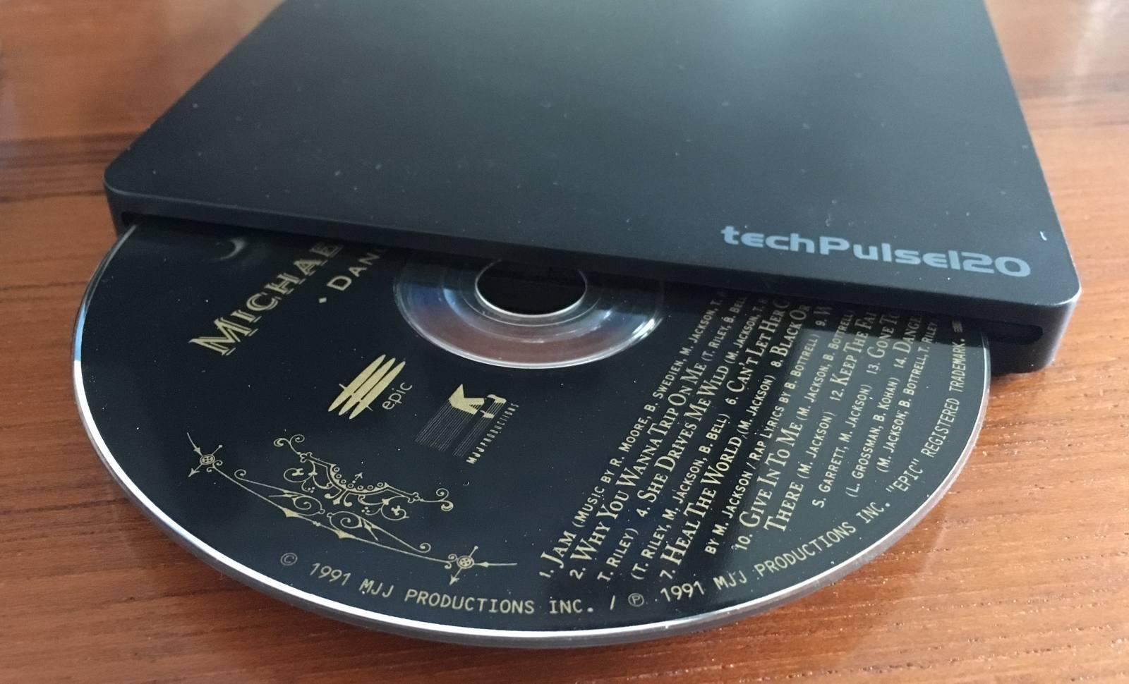 Mit einem externen CD-ROM könnt Ihr CDs auch auf Systemen ohne eigenes Laufwerk rippen. (Bild: Tutonaut)