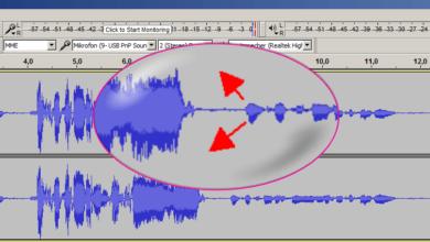 Bild von Audacity: Lautstärke-Unterschiede in einem Track ausgleichen