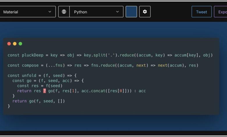 Bild von Code via Screenshot oder Online-Dienst einfach teilen