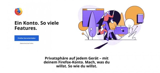 Firefox-Konto