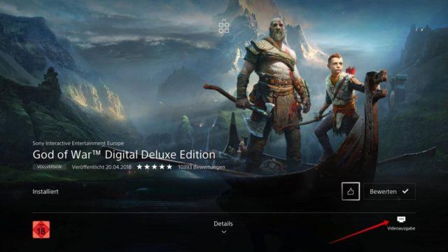 God of War PSN Store
