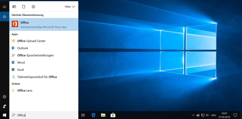 Et voilá: Cortana übermittelt die Suche jetzt nicht mehr automatisch an Bing.