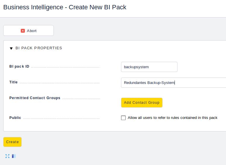 check_mk business intelligence