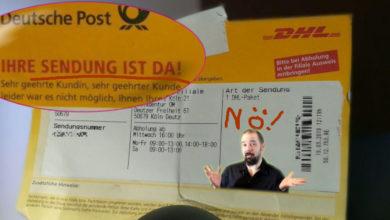 Bild von DHL & Co.: Per Mail beschweren und das Geheimnis der Zettelkleber